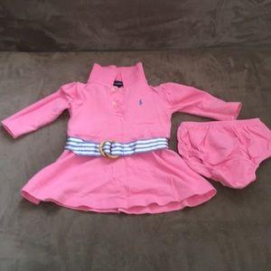 Baby Girls Ralph Lauren dress
